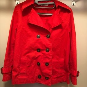 Women's Cropped Trench Jacket- Size Small
